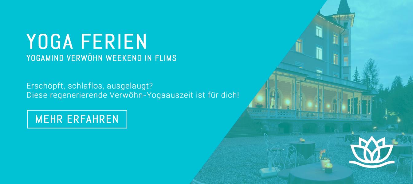 Yoga Ferien in Flims mit Chantal Yoga